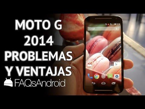 Motorola Moto G 2014: 3 Problemas y 3 ventajas