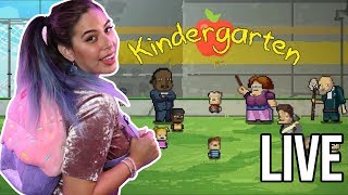 Going to Kindergarten LIVE w/iHasCupquake!