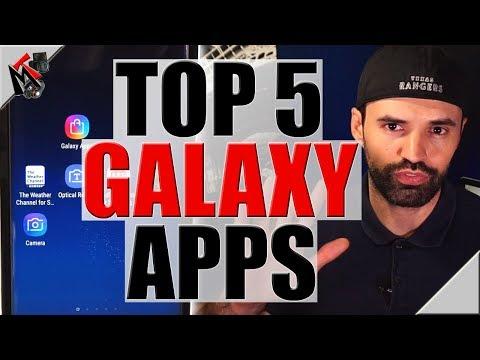 Samsung Galaxy Apps 2017 - Top 5