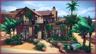 Casa Del Selvador Sims 4 Speed Build Jungle Adventure