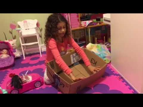 How to make a crib out of a box