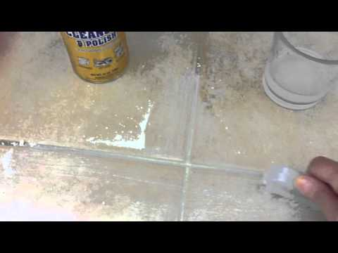 How to Clean grout fast and easy with BAR KEEPERS FRIEND