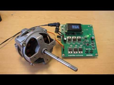 A Simple Sensorless BLDC Motor Control