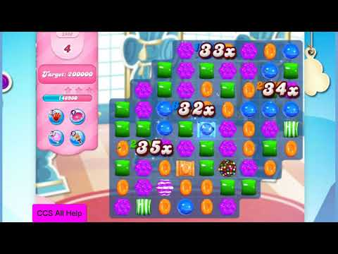 Candy Crush Saga Level 2980 15 moves NO BOOSTERS Cookie