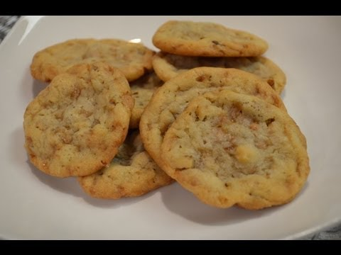 How To Make Heath Toffee Cookies - CookwithApril