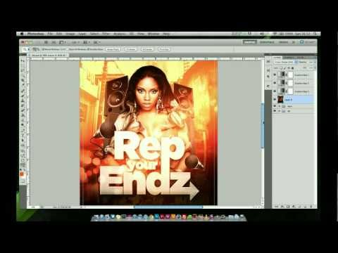 Photoshop Tutorial - Club Event Flyer Design