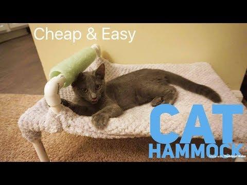 DIY Cat Hammock
