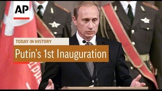 Putin's 1st Inauguration - 2000 | Today In History | 7 May 17