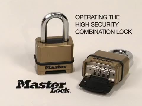 How to use Magnum® Resettable Combination Locks