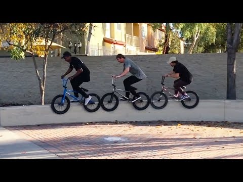 BMX   West Bound Trip   Corey Martinez and Matthias Dandois