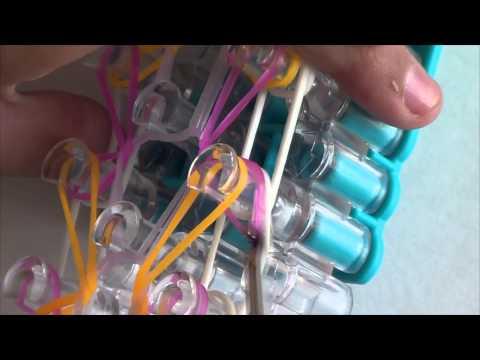 NEW Coconut Rainbow Loom Bracelet Tutorial - How T