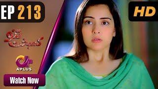 Drama | Kambakht Tanno - Episode 213 | Aplus ᴴᴰ Dramas | Tanvir Jamal, Sadaf Ashaan