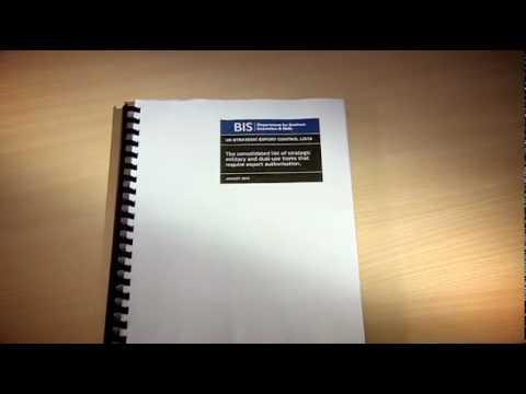 Responsible Exports - Export Control film