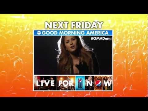 Demi Lovato #GMADemi [Promo] Next Friday, July 6, GMA's Summer Concert Series 2012
