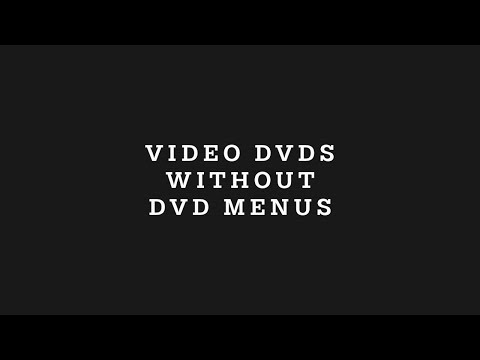 How To Make Video DVDs Without DVD Menus In DVDStyler