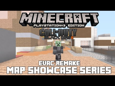 PS3/PS4 Minecraft Map Showcase: Episode 84 Call of Duty Black Ops 3 Evac