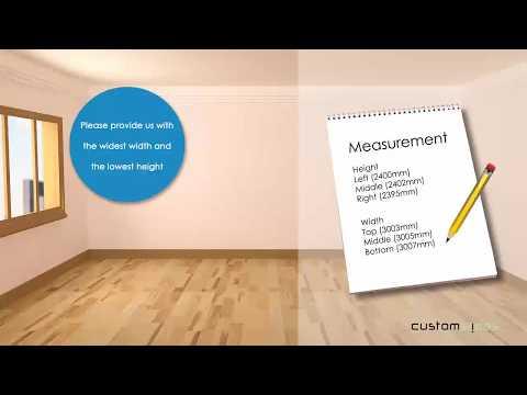 How to measure Sliding Wardrobe doors