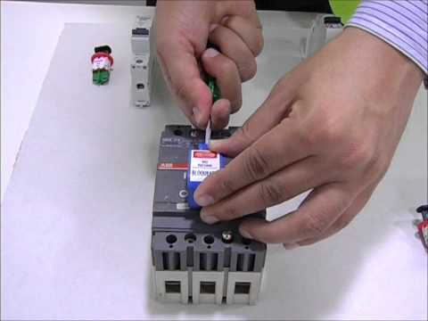 Moulded Case Circuit Breaker Lockout