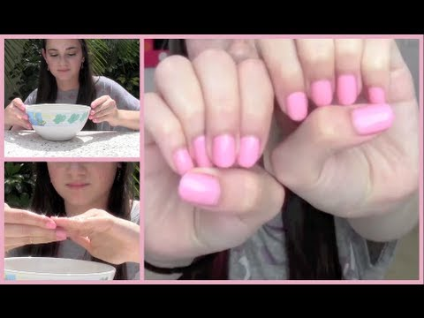 Quick Tip - Grow Longer Nails with Olive OIl!