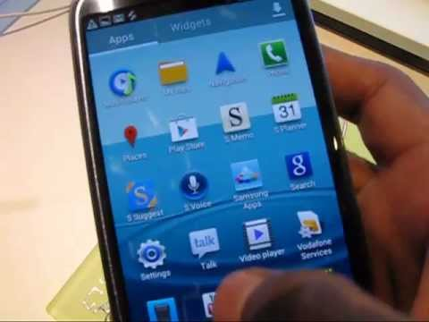 Samsung Galaxy S3 hands on video - Camera, Task manager, Game hub, S Suggest