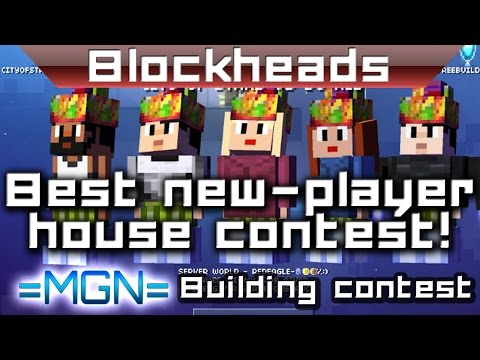 Blockheads - Best new-player house contest!