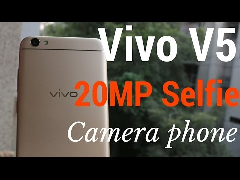 Hindi | Vivo V5 Unboxing & Review | 20MP selfie Camera| Sharmaji Technical