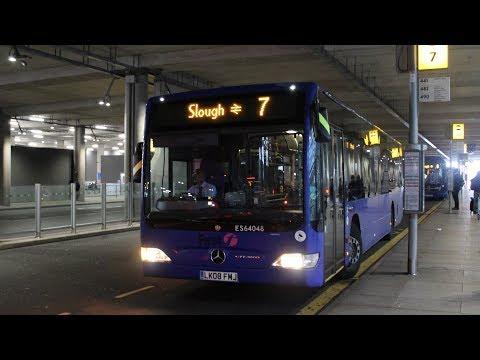 First Berkshire   Mercedes-Benz Citaro   7 to Slough Station   LK08FMJ (ES64048)