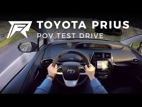 2017 Toyota Prius 1.8 Hybrid - POV Test Drive (no talking, pure driving)