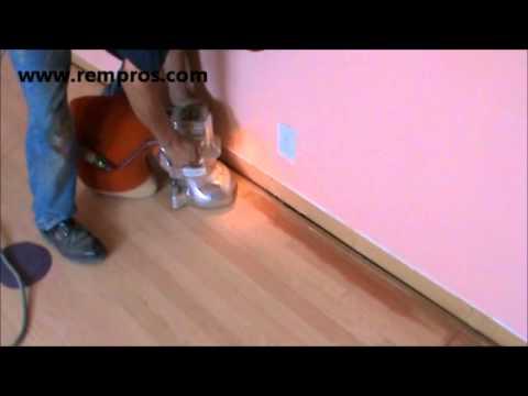 Hardwood floor refinishing - sanding. How to sand hardwood floor.