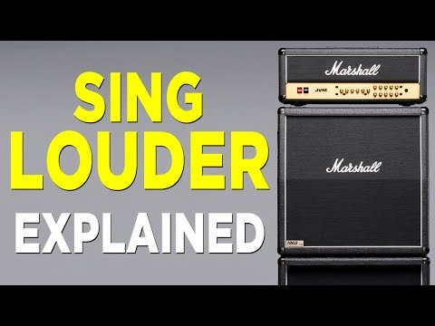 SING LOUDER  - How to use Natural Vocal Power - Kevin Richards