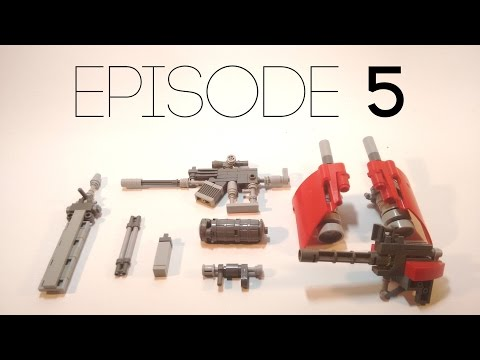 Lego Mech Design [05]: Weapons and Accessories