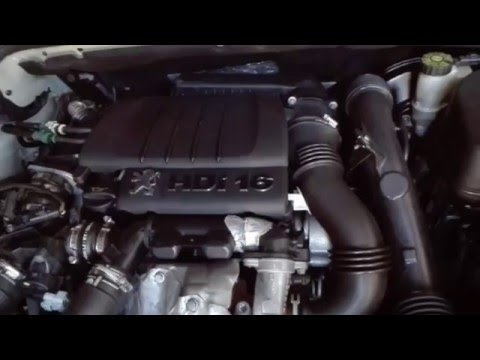 Peugeot 407 1.6 HDi Engine Sound (with DPF and EGR)