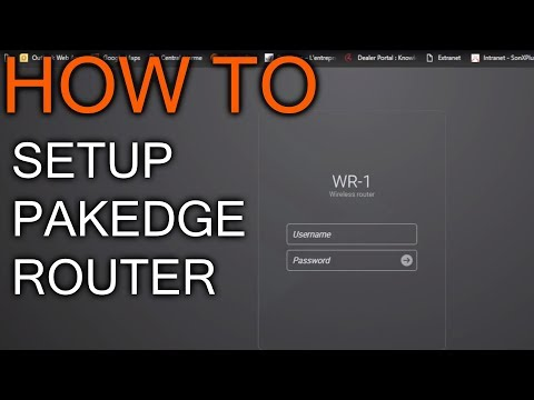How to setup Pakedge Router