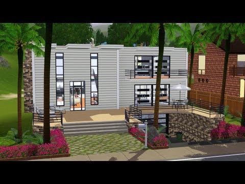 The Sims 3 - Building a Bachelor Beach House