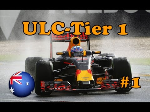 F1 2016 | United League Championship Season 2 Tier 1 | Round 1: Australia Highlights