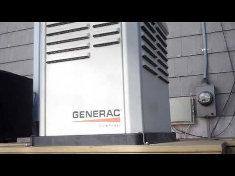 Overview of the new Generac CorePower Emergency Power Generator