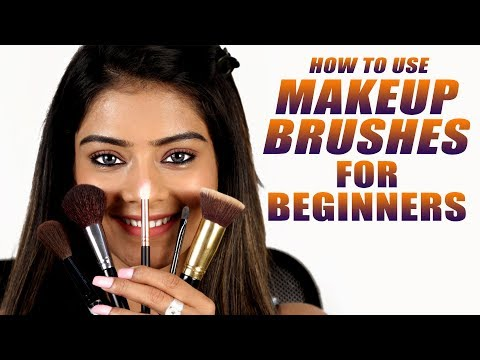 How To Use Makeup Brushes | Makeup Brushes For Beginners | Makeup Brushes Tutorial | Foxy Makeup