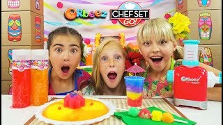 Chef Set Go! Throws a Luau Themed Party!   Official Orbeez