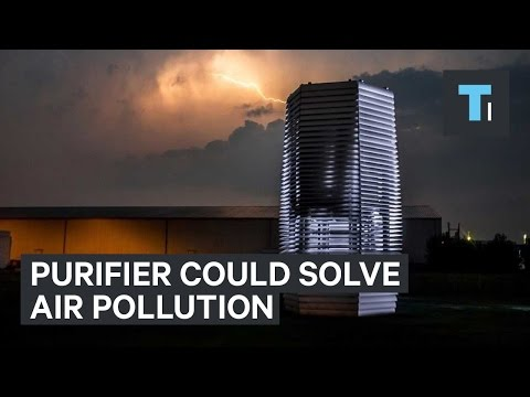 Giant air purifier could solve China's air pollution problem