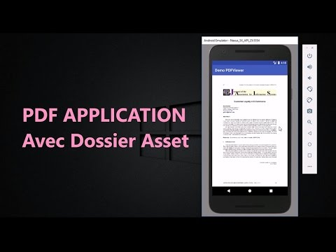 Faire Une Simple Application PDF Android