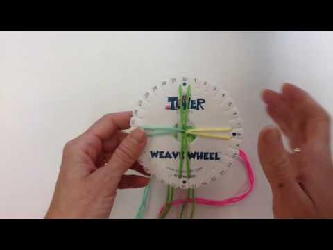 Weaving wheel