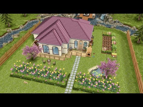 The Sims FreePlay⎮시골집 / FLOWER COTTAGE 🌼🌸