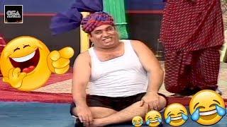 Nasir Chinyoti Nu Bahut Mariya with Iftikhar Thakur Khushboo 2019 New Stage Drama Best Comedy Clip😂
