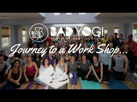Bad Yogi: Journey to a Workshop Vlog