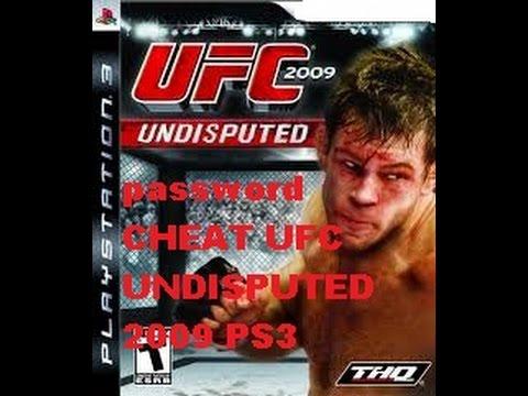 password-CHEAT UFC UNDISPUTED 2009 PS3