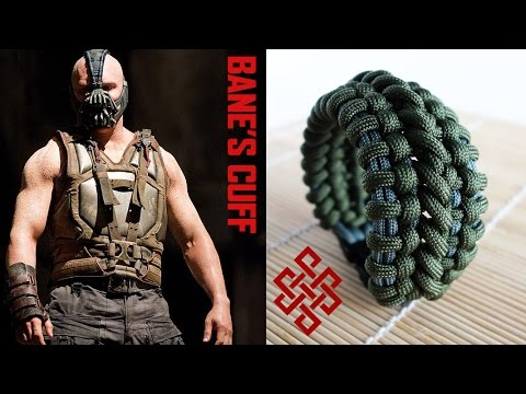 How to Make the Bane's Cuff Paracord Bracelet with Buckles Tutorial