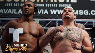 La próxima pelea de Joshua y Andy Ruiz puede ser en los tribunales | Telemundo Deportes