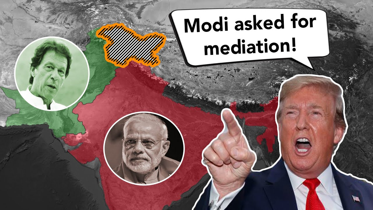 Why does Trump want to mediate the Kashmir conflict?