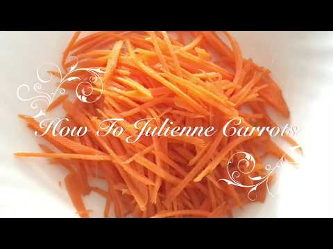 Life Hacks: How To Cut Carrot into Strips With No Effort / 切蘿白絲有辦法 / 人参の千切り方法失敗なし