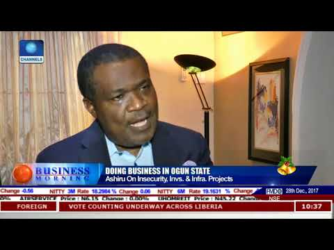 Discussing Doing Business In Ogun State Pt.1 |Business Morning|